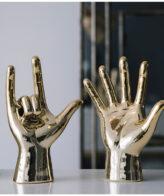 اكسسوارات ديكور منازل تمثال النحت السيراميكي اكسسوارات منزلية