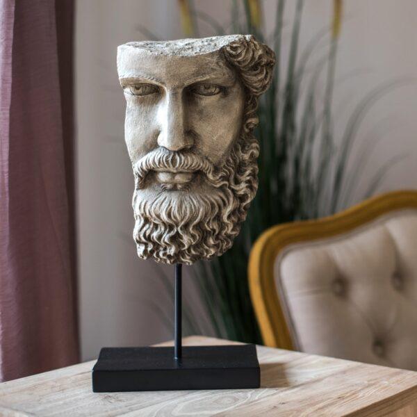 تمثال اكسسوارات وجه فرويد الروماني اكسسوارات منزلية