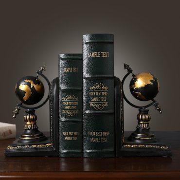 نموذج حامل الكتب على الطراز الامريكي اكسسوارات منزلية