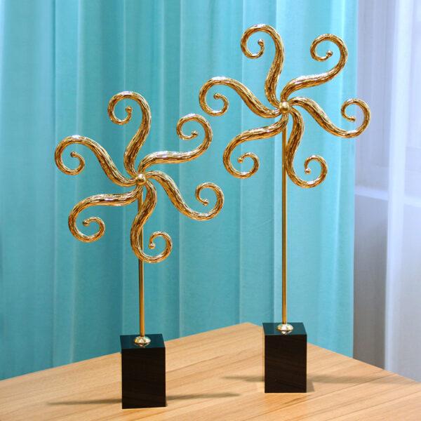 تمثال اكسسوارات شجرة السعادة البحرية اكسسوارات منزلية