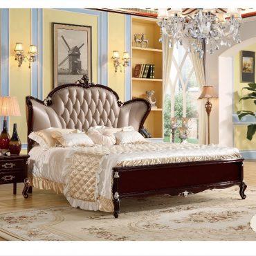 غرفة النوم الفرنسية الكلاسيكية الفاخرة مفروشات