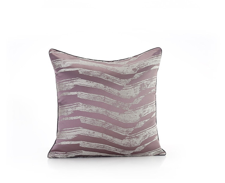 Exquisite jacquard decorative cushion cover geometric embroiderde pillow cover sofa car office chair pillowcase