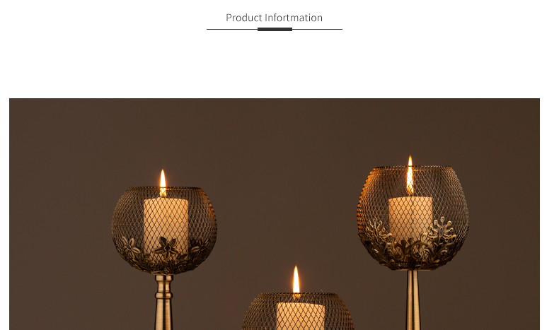 Gold Wrought Iron Vintage Wrought Iron Candle Holders Wedding Decoration Table Centerpiece Candelabra Birthday Party Candlestick