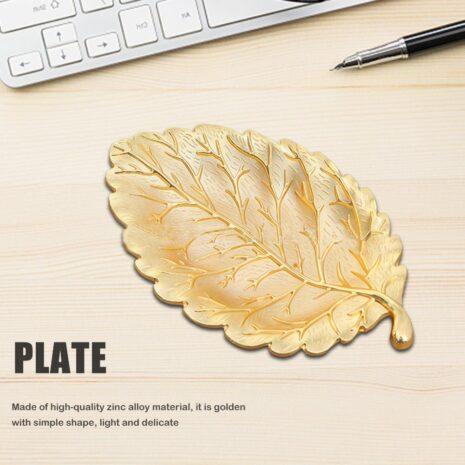 اكسسوارات الطاولة ورق النبات المعدني اكسسوارات منزلية