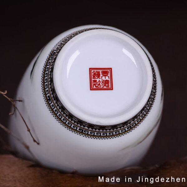 اناء السيراميك الصيني للديكور اكسسوارات منزلية