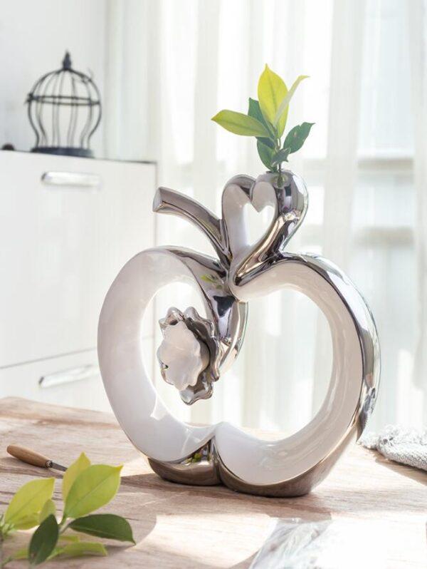 اكسسوارات المنزل التفاحات السيراميكية اكسسوارات منزلية