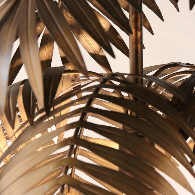ثريا نجف ورق شجرة الموز الابداعية ثريا و نجف