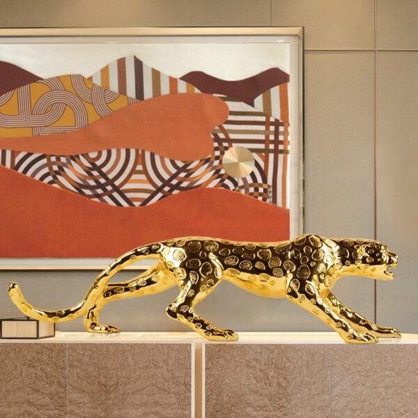 تمثال اكسسوار المنزلي النمر العربي اكسسوارات منزلية