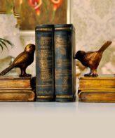 اكسسوار تغريد كناري حامل الكتب اكسسوارات منزلية