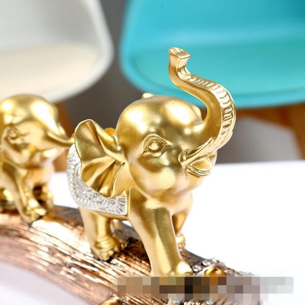 تمثال اكسسوار الفيلة الهندية اكسسوارات منزلية