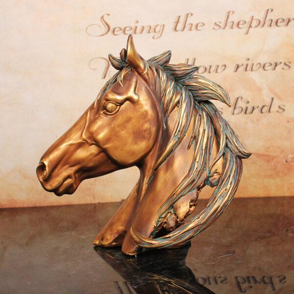 اكسسوار رأس حصان طروادة الفاخر اكسسوارات منزلية