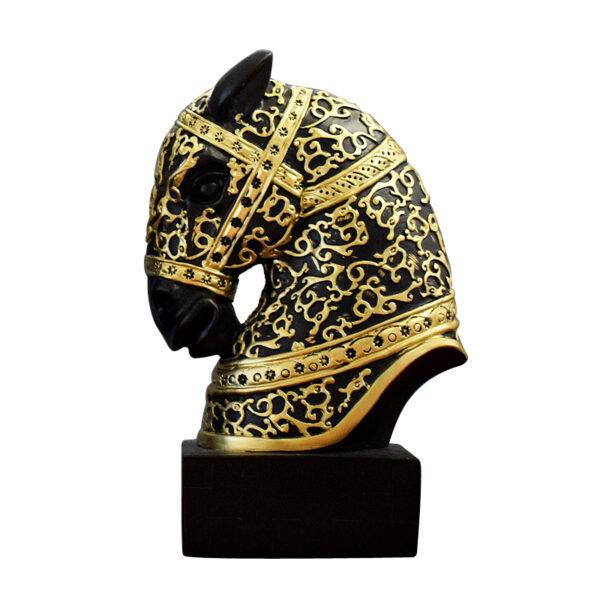 اكسسوار رأس حصان طروادة المزخرف اكسسوارات منزلية
