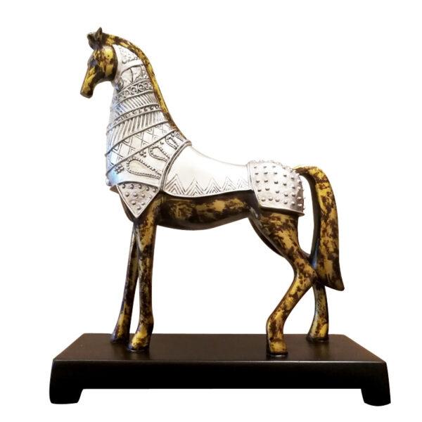 اكسسوار منزل حصان طروادة الابيض اكسسوارات منزلية