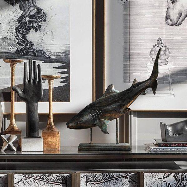اكسسوار سمكة فيلم القرش اكسسوارات منزلية