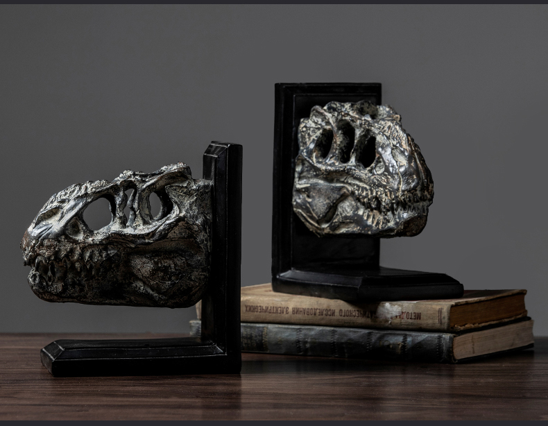 Dinosaur Statues Africa Home Decor Skull For Decoration Resin Animal Skull Skeleton Abstract Sculptures Carving Fossil Statue