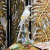 تمثال اكسسوار الببغاء الافريقي اكسسوارات منزلية