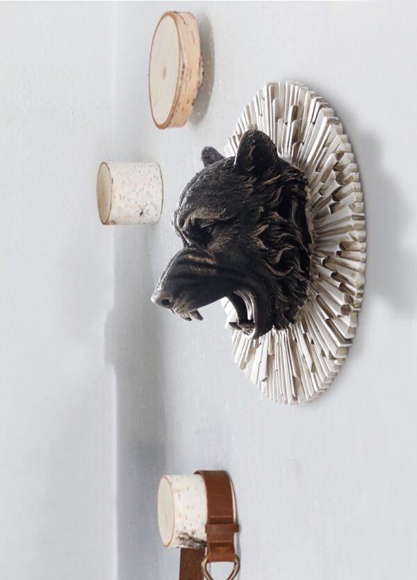 تمثال اكسسوار الوحوش في البرية اكسسوارات جدارية