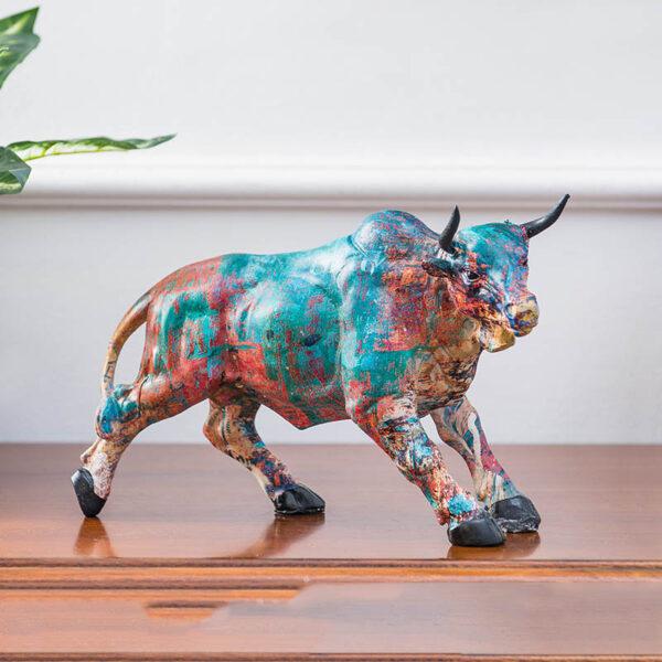 تمثال اكسسوار الثور الوحشي اكسسوارات منزلية