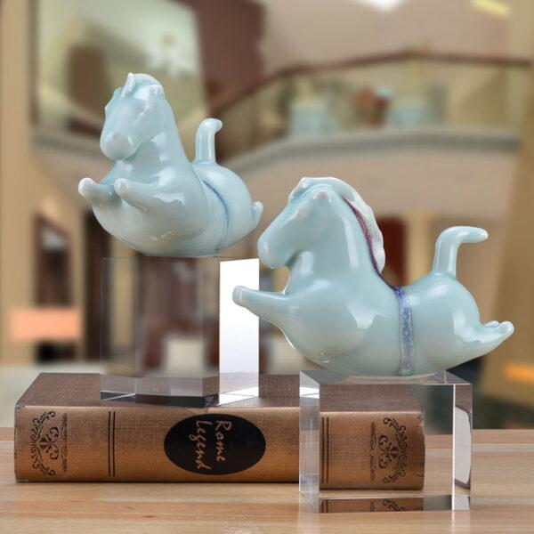 تمثال اكسسوار الحصان البراق اكسسوارات منزلية