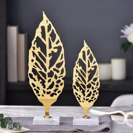 تمثال اكسسوار ورق نبات السدر اكسسوارات منزلية