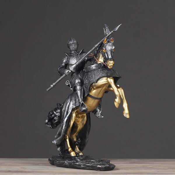 تمثال اكسسوار الفارس الجحجاح اكسسوارات منزلية