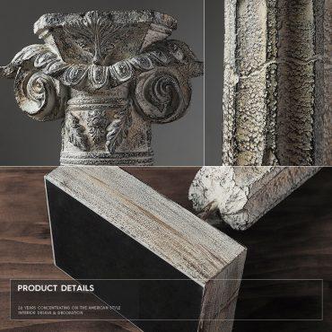 تمثال اكسسوار الاعمدة الرومانية اكسسوارات منزلية
