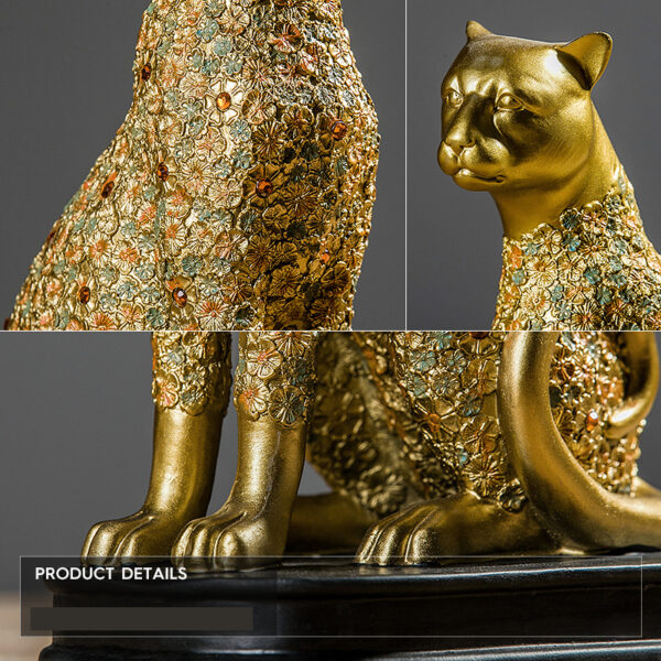 تمثال اكسسوار الفهد العاشق اكسسوارات منزلية