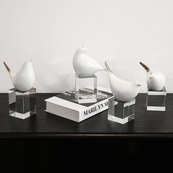 اكسسوارات تمثال طائر النمنمة اكسسوارات منزلية