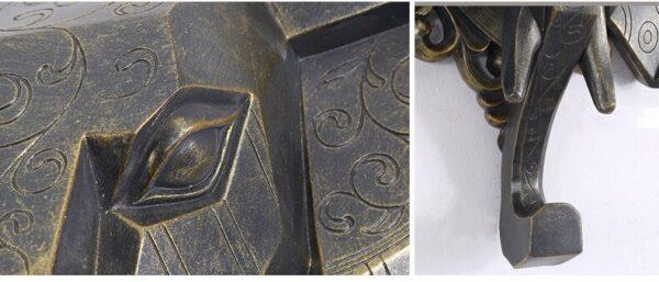 تمثال اكسسوار الفيل الازرق 2 اكسسوارات جدارية