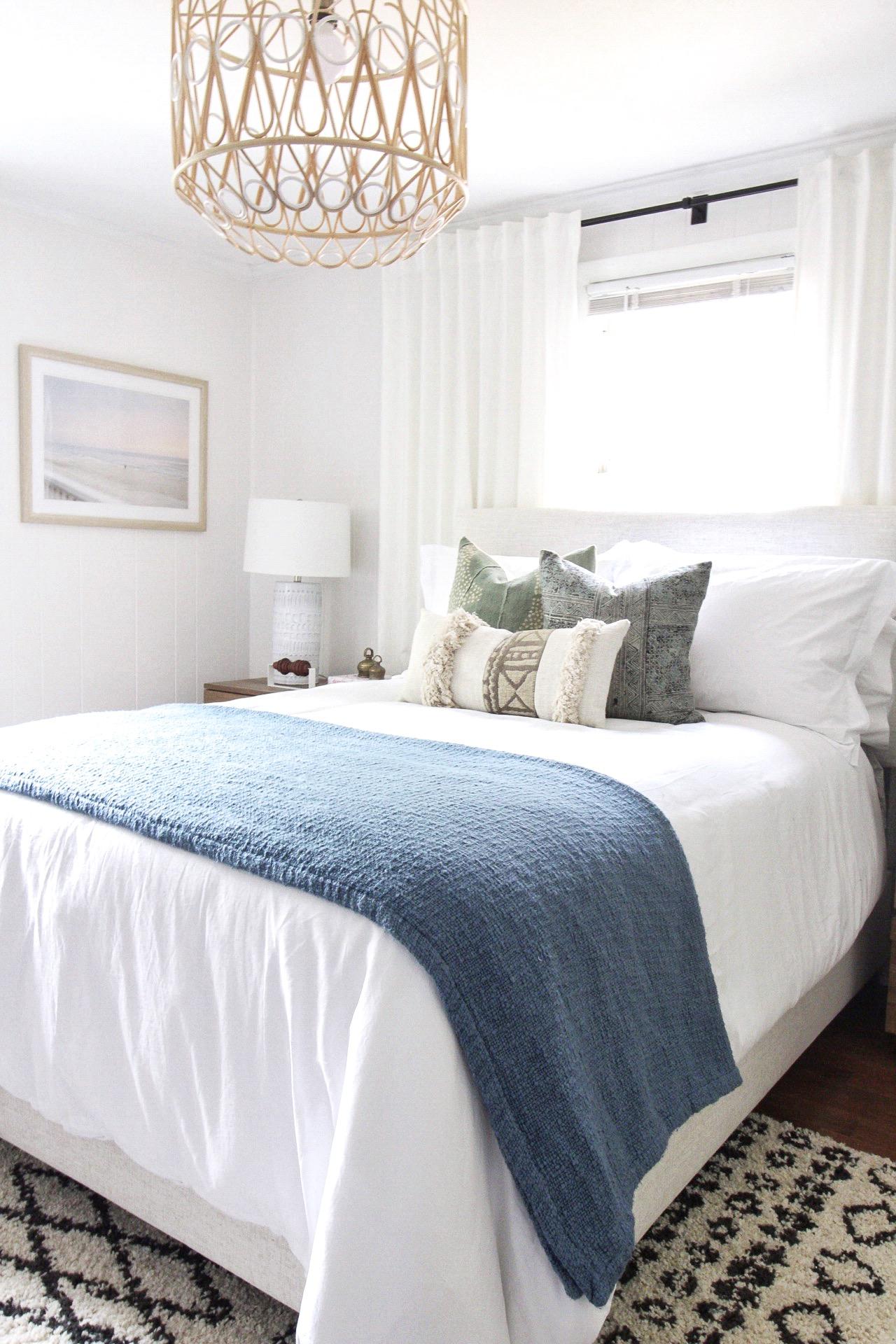 تكشف غرفة نوم الضيوف الساحلية – نظرة أولى إلى المنزل الجديد