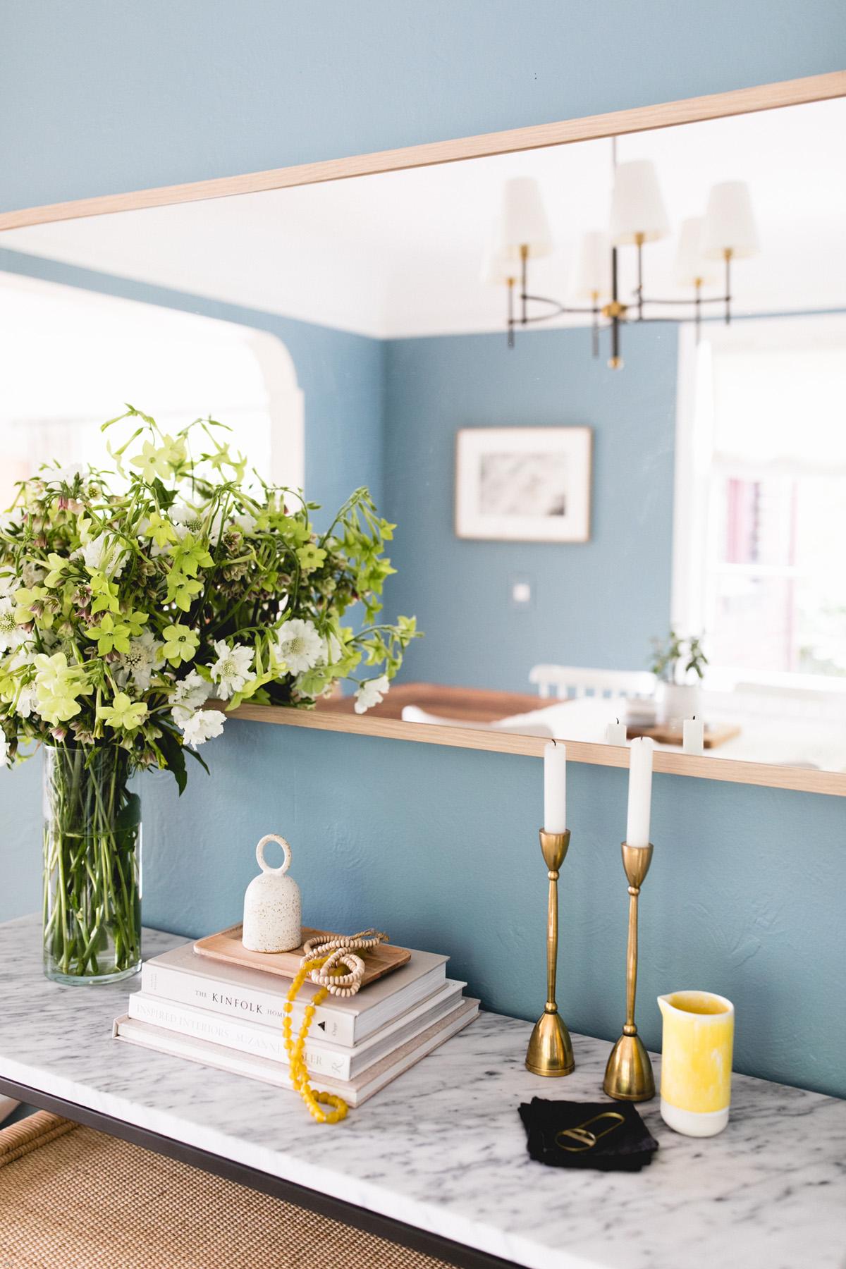 كيفية اختيار ألوان الطلاء لأي غرفة دهانات ppg دفق هادئ أزرق لون غرفة الطعام الطلاء