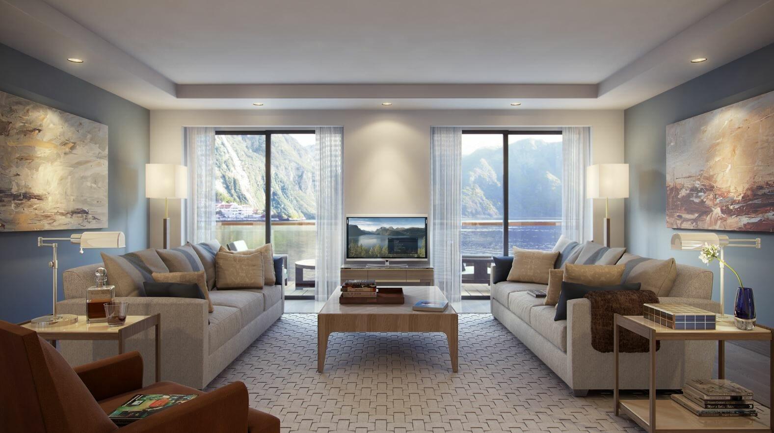 شراء أثاث غرفة المعيشة على الإنترنت جعل الديكور decorilla