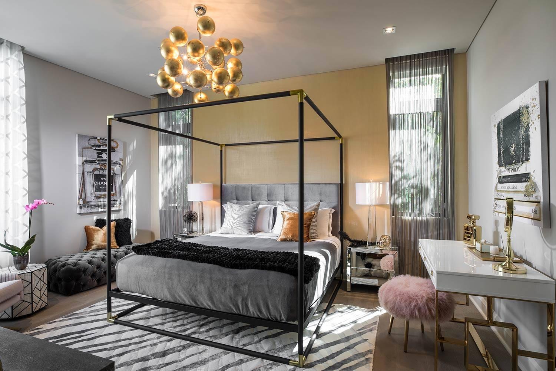 سرير المظلة براقة 2020 اتجاه التصميم الداخلي - decorilla