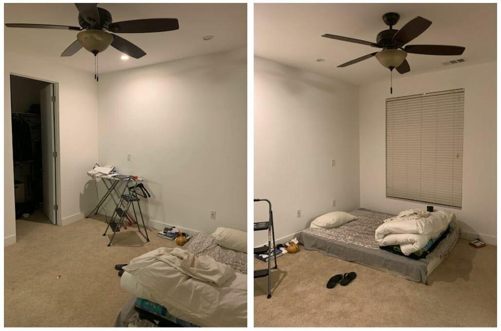 تصميم غرفة نوم معاصرة من قبل - صور عميل decorilla