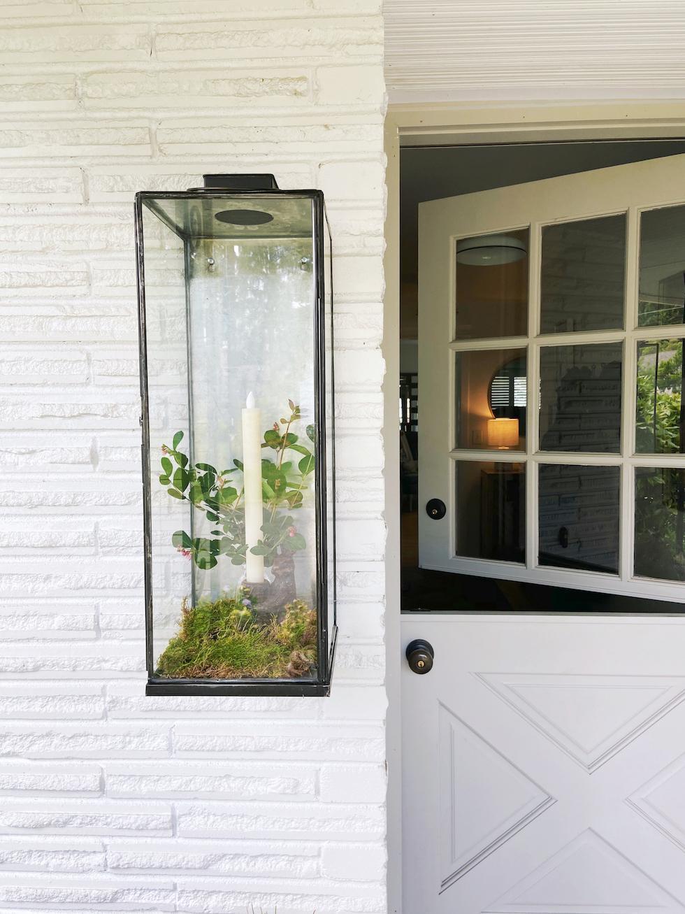 فانوس الحائط الخارجي الجديد الخاص بي + أفكار التصميم