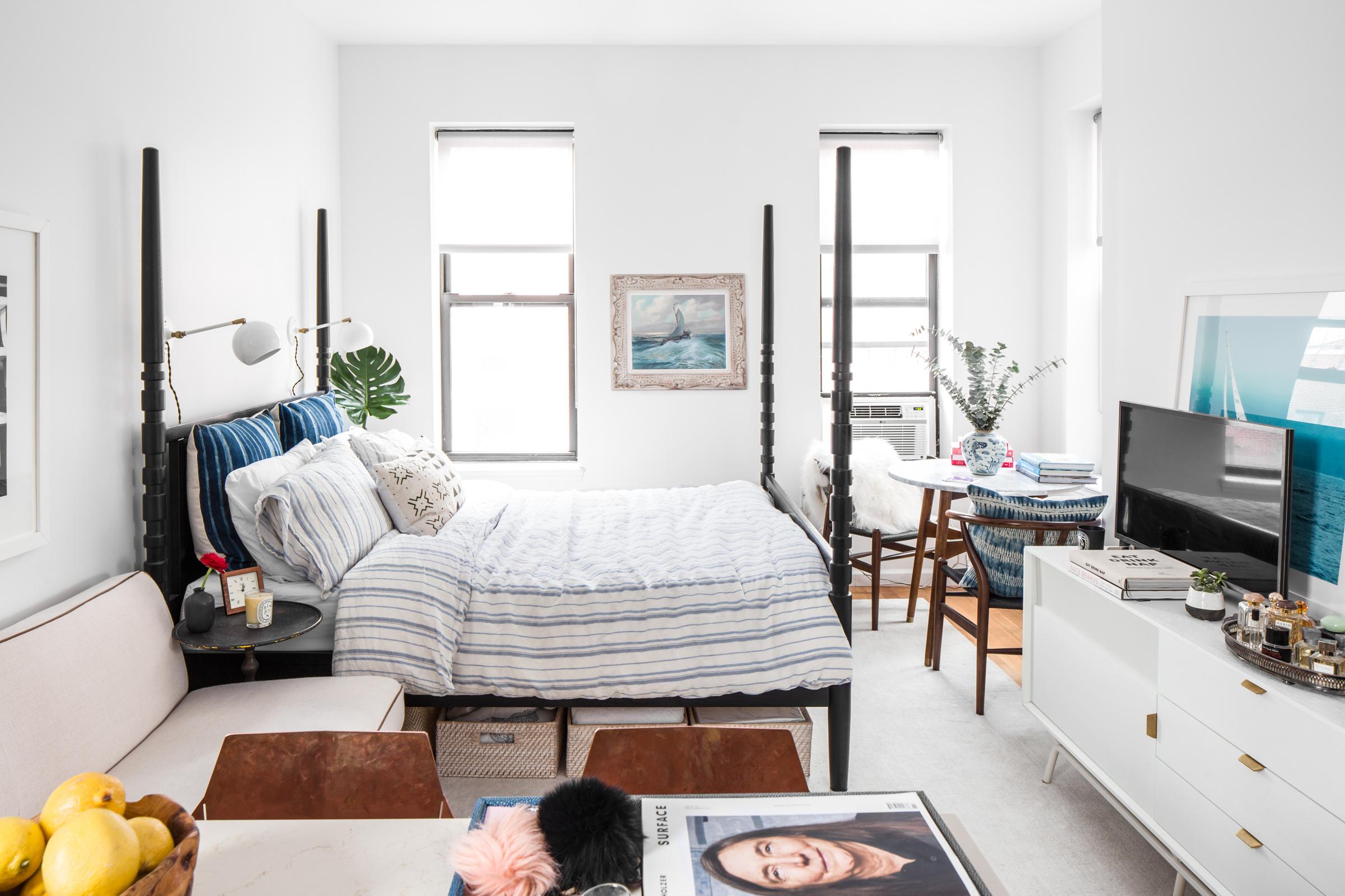 تصميم شقة صغيرة في نيويوك