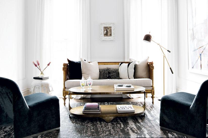 اعادة تصميم غرفة المعيشة بميزانية معقولة