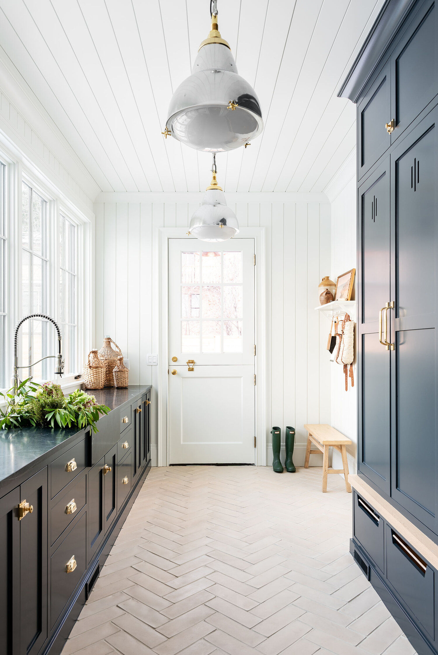 The McGee Home: جولة Mudroom