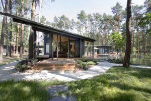 الكبائن والشاليهات: منازل منعزلة في الريف التشيكي