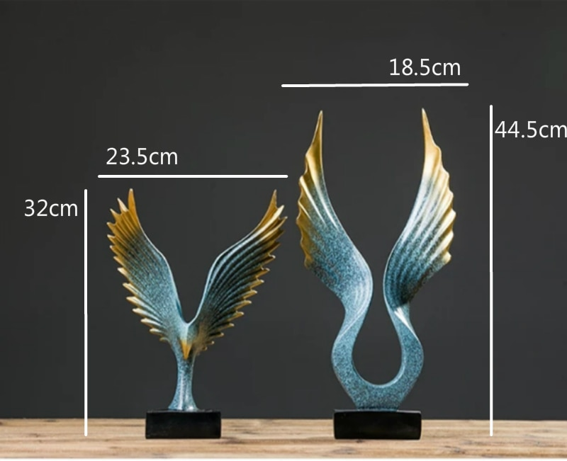 Family Figurines Living room eagle home decor accessories family ornaments Nordic simple modern office creative crafts