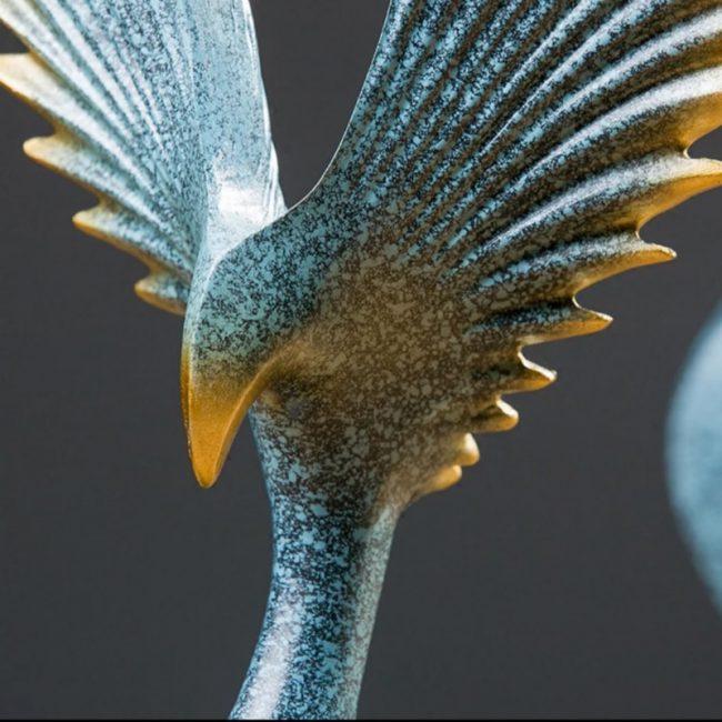 طيور النسر ديكور منزلي اكسسوارات منزلية