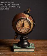 Clock globe