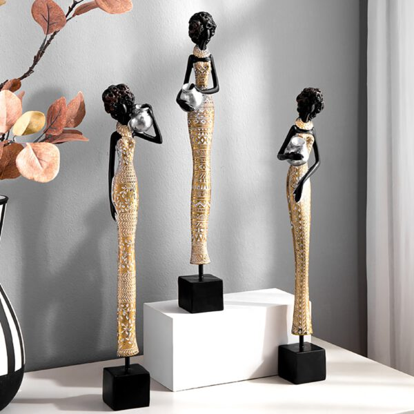 اكسسوارات المرأة الافريقية العصرية اكسسوارات منزلية