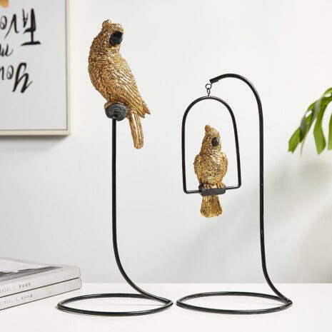 شمعدان طيور الحب المغردة اكسسوارات منزلية