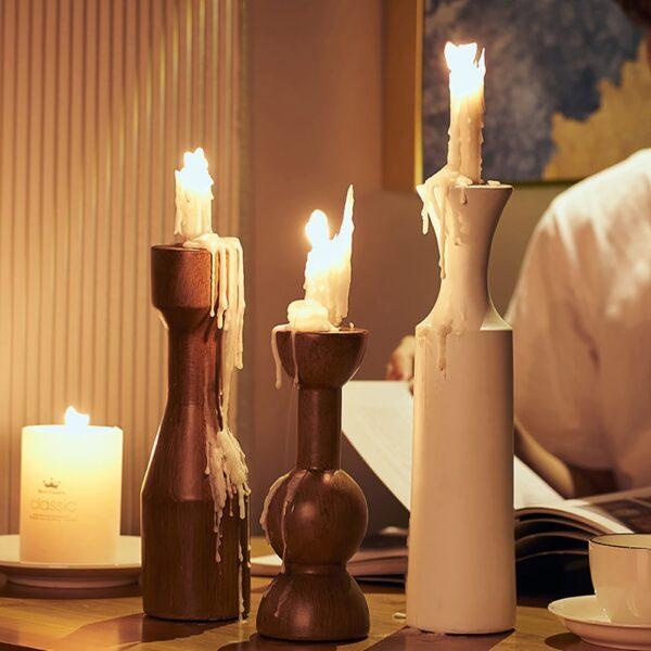 اكسسوار حامل الشموع المودرن اكسسوارات منزلية