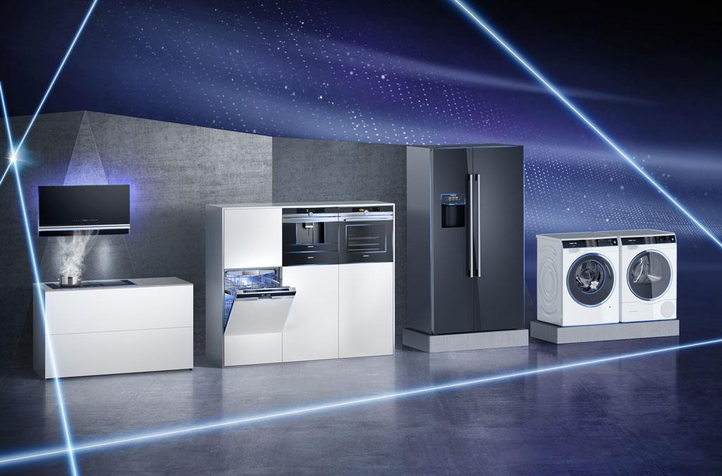 المنزل الذكي توصيل الأجهزة للمطبخ من قبل شركة سيمنز