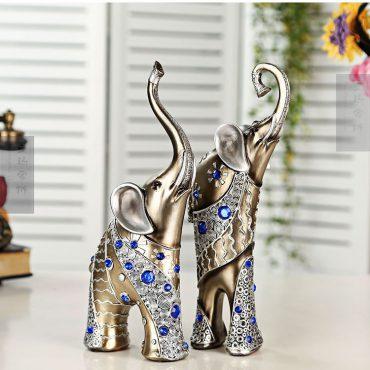 قطع الفيل الألماسي الفاخر ديكور و اكسسوارات