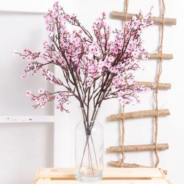 الزهور الاصطناعية الخريفية الفاخرة اكسسوارات منزلية