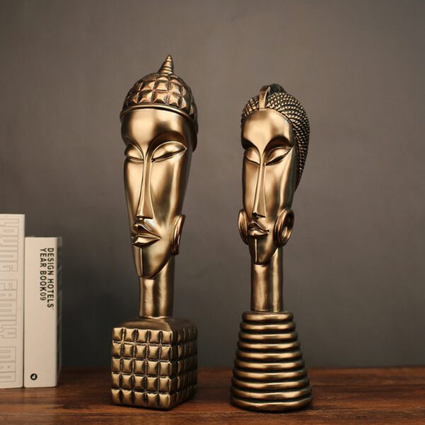 اكسسوارات تماثيل حضارة جنوب افريقيا اكسسوارات منزلية