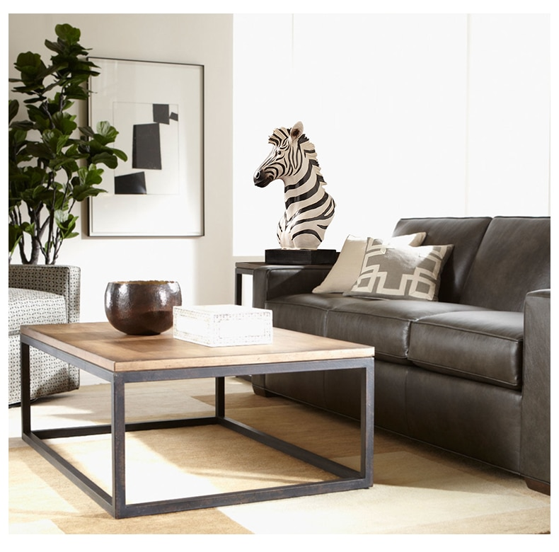 Home Living Room Desktop Decor Sculpture Zebra Horse Head Statue Decoration Accessories Resin Large Animal Figurine Craft Gift
